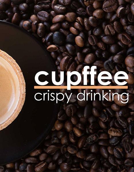 Cupffee Crispy drinking